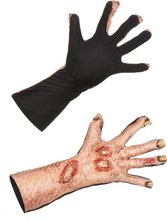 Zombie handschoenen voor volwassenen - Verkleedattribuut - One size