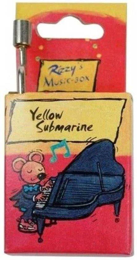 Rizzy - Muziekdoos -  The Beatles - Yellow submarine