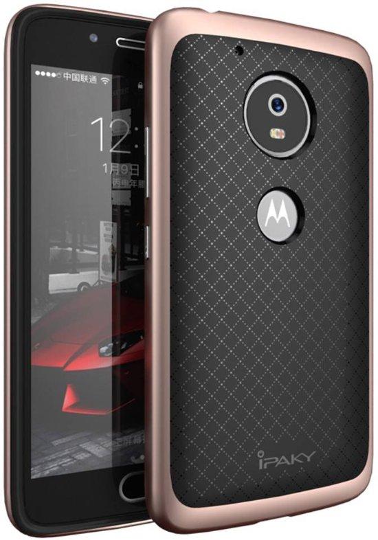GSMWise - Motorola Moto G5 - Hybride TPU Backcase Hardcase Stevig Hoesje - Rose Goud in Oudezijl