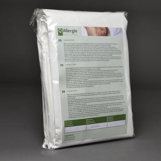 Huisstofmijt + allergeenstofdichte matrashoes 140x200x25cm