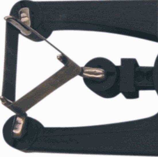 KLEM isolatiekous RT, zw, bi diam 4.5mm, hittebestendig, rektule
