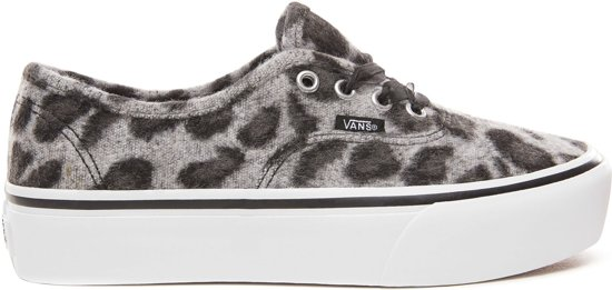 Sneakers Authentic 36 Maat Platform Wmn Grijs Vans Dames TqvxaEw