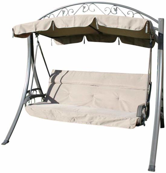 bol | chatsworth comfortabele schommelbank voor in de tuin