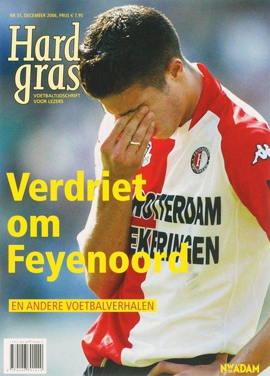 Boek cover Hard Gras / 51 Verdriet om Feyenoord van Hugo Borst (Paperback)