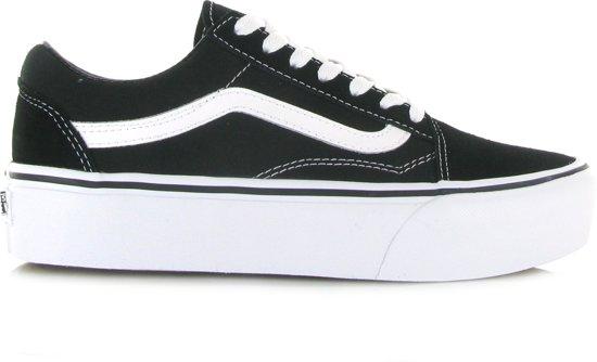 b545a876c61 bol.com | Vans Dames Sneakers Old Skool Platform - Zwart - Maat 37