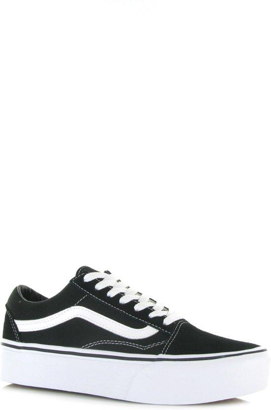 Sneakers Zwart Old Skool Maat Vans Platform Dames 37 nxTqzwX