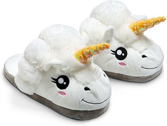 Unicorn slippers - sloffen - kinderen Mt. 32-36