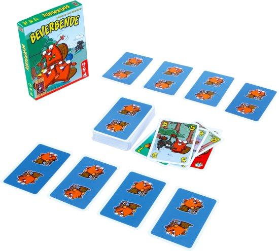 Thumbnail van een extra afbeelding van het spel Beverbende Kaartspel