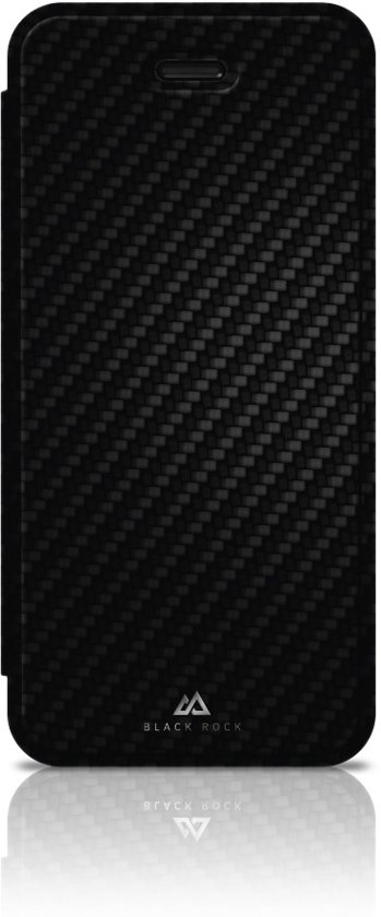 Black Rock Flex Carbon Booklet Case iPhone 5 / 5s / SE