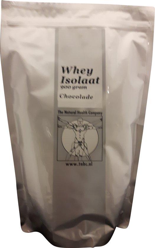 Whey Isolaat chocolade 2250 gram T.N.H.C.
