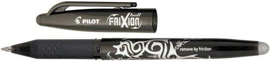 Frixion rollerballpen uitgumbaar - 0,7 mm - Zwart