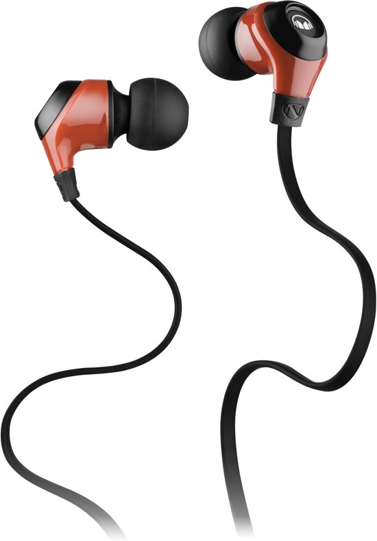 Monster MobileTalk In-Ear Headphones Cherry Red with ControlTalk