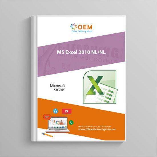 Cursusboek Microsoft Excel 2010