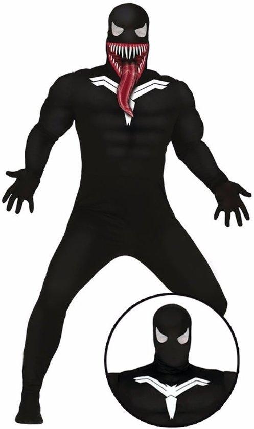 Horror donkere superheld kostuum / outfit voor volwassenen - Halloween verkleedpak M (48-50)