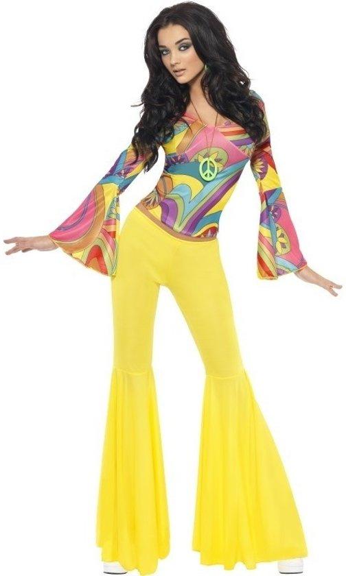 be8ea14e1bea91 Jaren 60  70   Hippie kostuum voor dames - flower power kleding 40-42