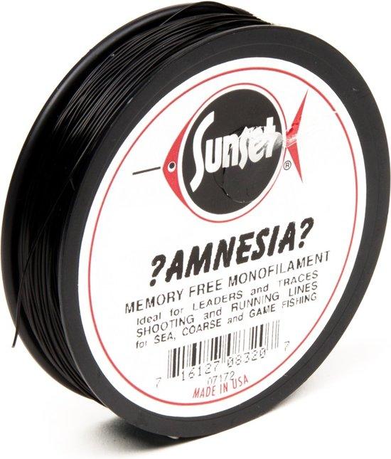 Midnight Moon Amnesia Lijn - Onderlijnmateriaal - 9.1 kg - Zwart