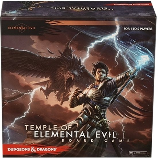 D&D Temple Of Elemental Evil Boardg