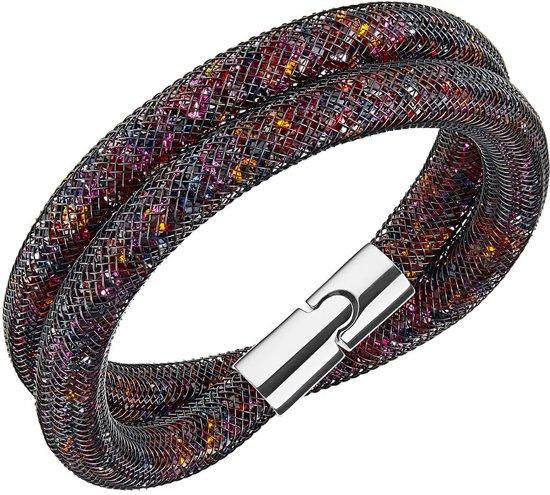 Swarovski Armband Stardust 5152144 - Zwart - M