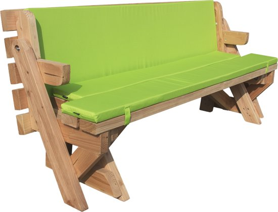 Picknick Tafel En Bank Ineen.Bol Com Bank En Picknicktafel 2 In 1 Standaard Model Douglas Hout