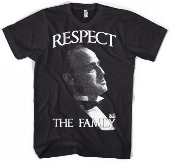 Godfather Respect t-shirt heren L