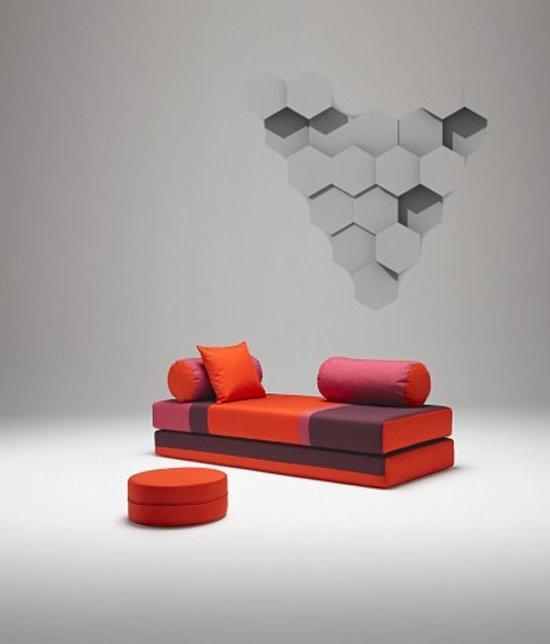 Slaapbank Van Innovation.Bol Com Innovation Dulox 08 Slaapbank Oranje