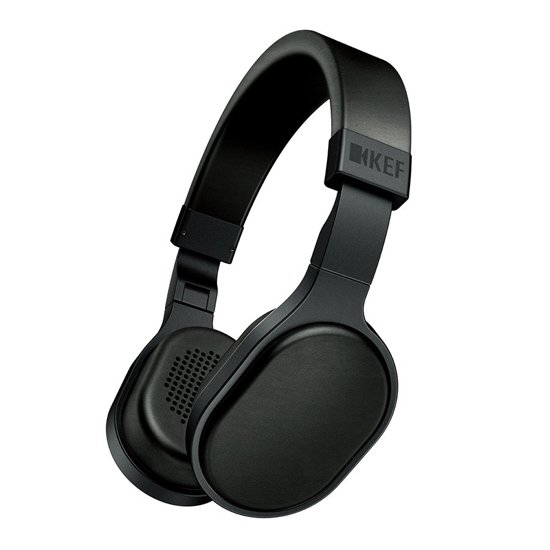 KEF M500 - On-ear koptelefoon - Zwart