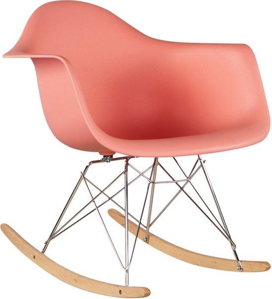 Roze schommelstoel - Studio HØFT!