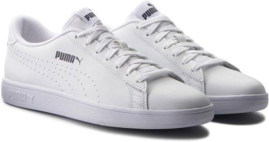bol.com | Puma Smash v2 L Sneakers - Maat 44.5 - Mannen - wit