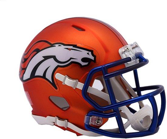 Riddell Speed Mini BLAZE Alt Broncos American Football Helm