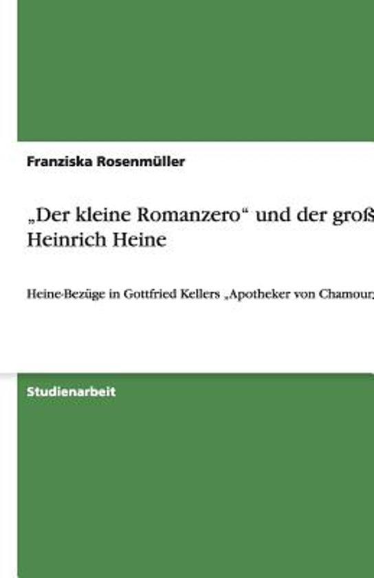 günstig kaufen Beamten wählen 60% Rabatt bol.com | der Kleine Romanzero Und Der Gro e Heinrich Heine ...