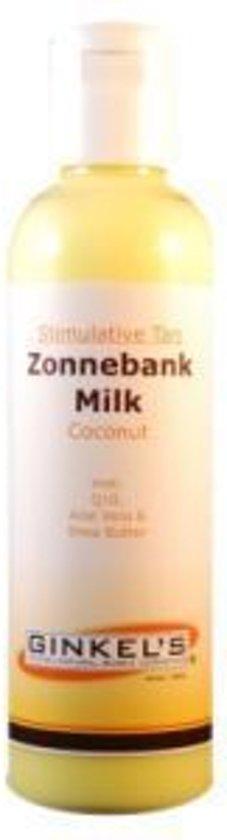 Ginkel's Milk Cocon Zonnebank - Zonnebrand lotion