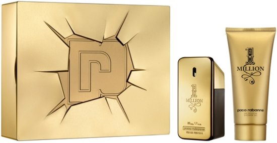 Paco Rabanne One Million - Geschenkset - Eau de toilette 50 ml + Douchegel 100 ml