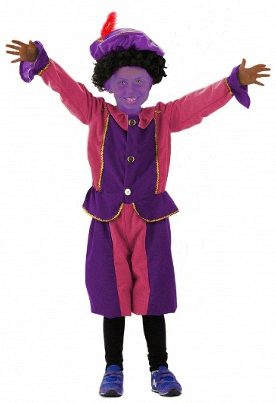 Paarse Piet accessoires set kids