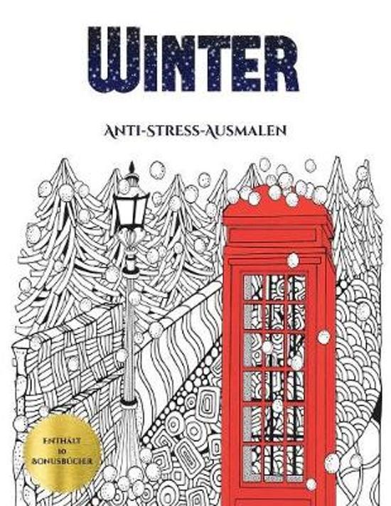 Anti-Stress-Ausmalen (Winter)