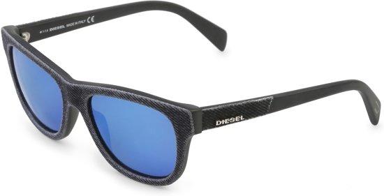 3bef893bddcc81 Diesel zonnebril Shiny Black DL01115201X