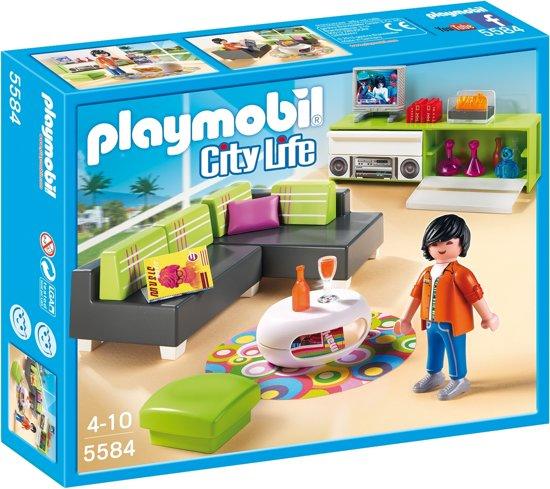bol.com | Playmobil Woonkamer - 5584, PLAYMOBIL | Speelgoed