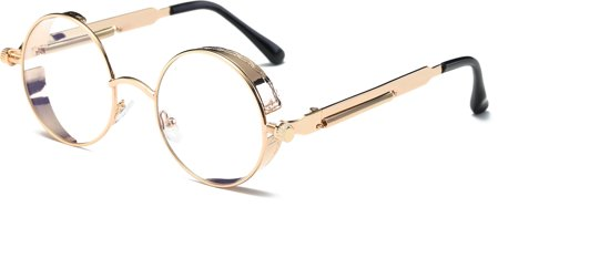 f0d32acc91d7af Ronde bril transparant