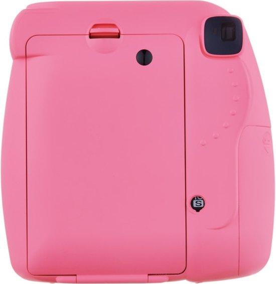 Fuji Instax mini 9 Flamingo Pink+enkelp film (10 foto's)+case