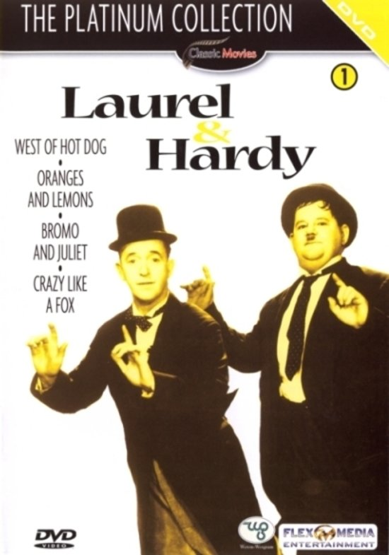Laurel & Hardy - The Platinum Collection Dvd 1
