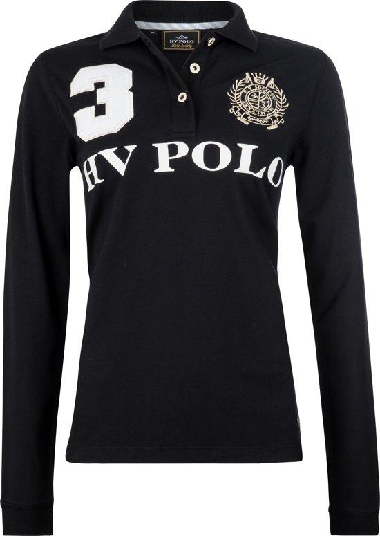 HV Polo Favouritas Eques LS - Polo Shirt - Black - S