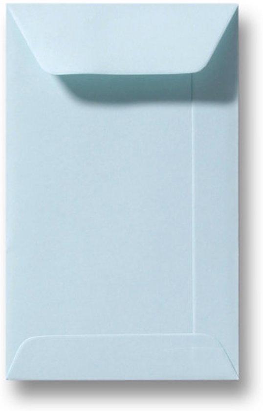 Envelop 6,5 X 10,5 Zachtblauw, 60 stuks