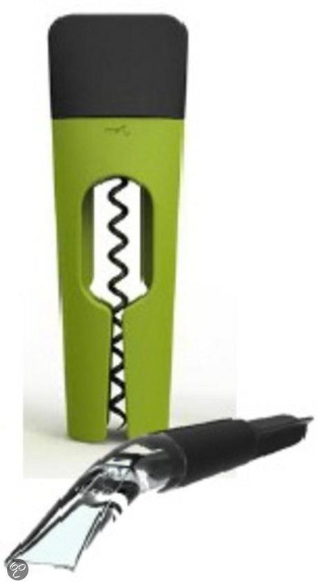 Menu Blade Wijnset - Kurkentrekker Twist - Decanteerder - Lime