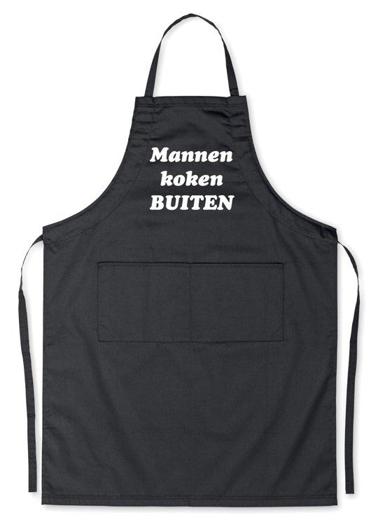 Wonderbaar bol.com   Mannen koken BUITEN! - Luxe Schort Keukenschort met KL-27