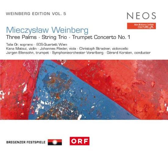 Weinberg Edition Vol.5: Three Palms/String Trio/..