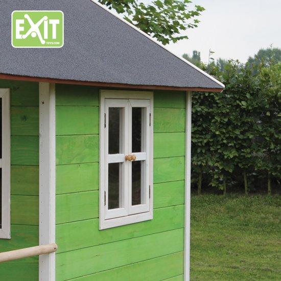 EXIT Loft 500 Speelhuisje met glijbaan hoog