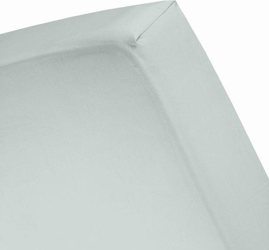 Damai Organic - Hoeslaken (tot 25 cm) - Bio Percale - 90 x 220 cm - Mist