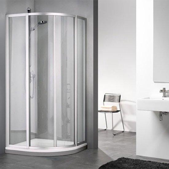Bedwelming bol.com | Douchecabine Sealskin Get Wet 110 Kwartrond Luxe AV72