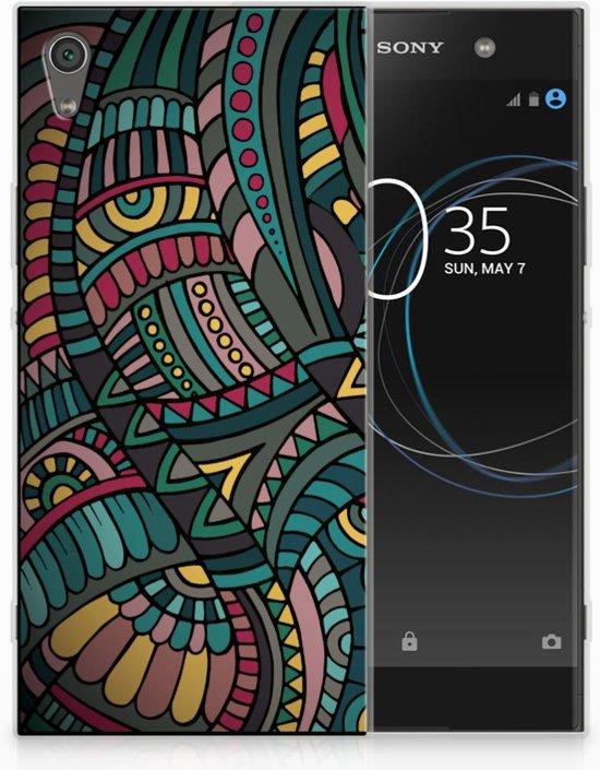 Sony Xperia XA1 Ultra TPU Hoesje Design Aztec