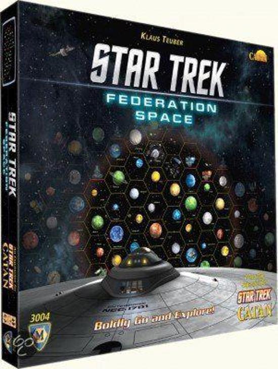 Afbeelding van het spel Federation Space Map (Star Trek Catan)