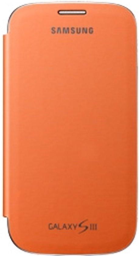 Samsung Flip Cover voor de Samsung Galaxy S3 - Oranje